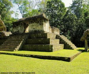 Puzzle Est A-3, Seibal, Guatemala