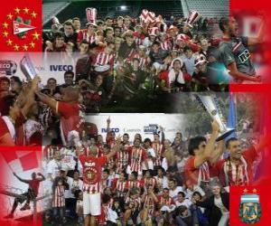 Puzzle Estudiantes de La Plata - Championnat Apertura 2010 en Argentine