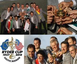 Puzzle Europe remporte la Ryder Cup 2010