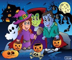 Puzzle Fête d'Halloween