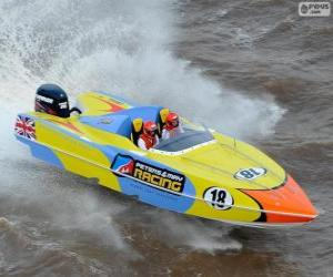 Puzzle F1 Powerboat