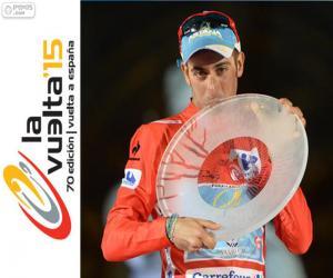 Puzzle Fabio Aru Tour d'Espagne 2015