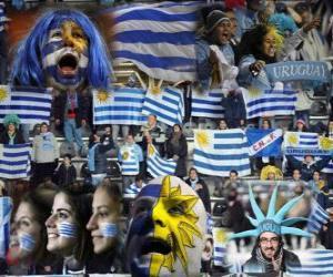Puzzle Fans de l'Uruguay, Argentine 2011