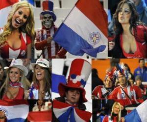 Puzzle Fans de Paraguay, Argentine 2011