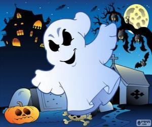 Puzzle Fantôme dessin