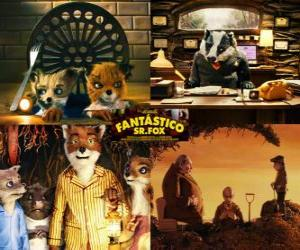 Puzzle Fantastic Mr. Fox