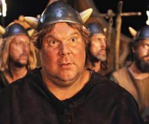 Puzzle Faxe, le Viking avec l'appétit plus grande, le plus grand et plus forte des vikings de Flake