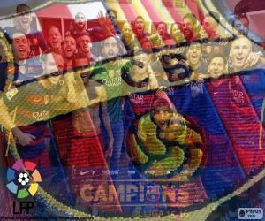 Puzzle FC Barcelone, champion de 2015-16