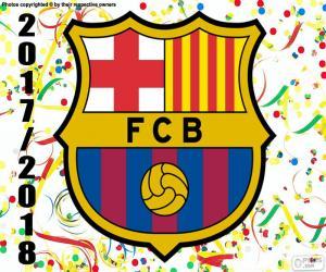 Puzzle FC Barcelone, champion de 2017-18