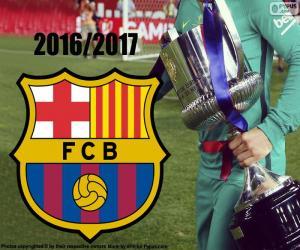 Puzzle FC Barcelone Copa del Rey 2016-17