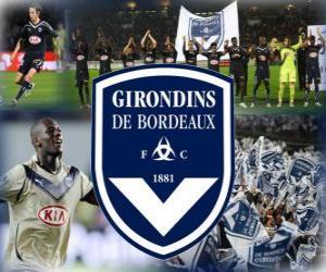 Puzzle FC Girondins de Bordeaux, club de football français