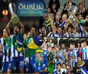 Puzzle FC Porto, champion de la UEFA Europa League 2010-2011