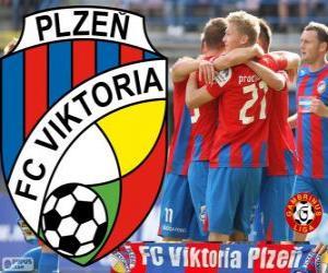 Puzzle FC Viktoria Plzen, champion de la Gambrinus Liga 2012-2013