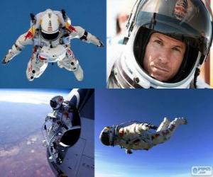 Puzzle Felix Baumgartner stratosphère saut