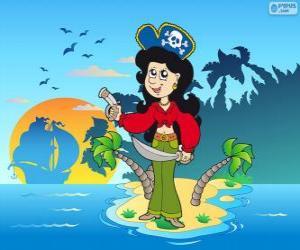 Puzzle Femme pirate