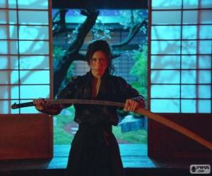 Puzzle Femme samouraï