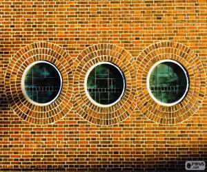 Puzzle Fenêtres rondes
