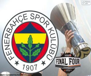Puzzle Fenerbahçe, champion Euroligue 2017