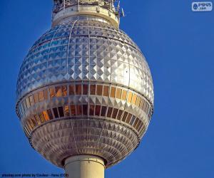 Puzzle Fernsehturm de Berlin, Allemagne