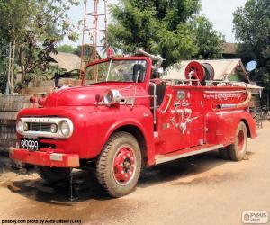 Puzzle Feu de camion, Birmanie