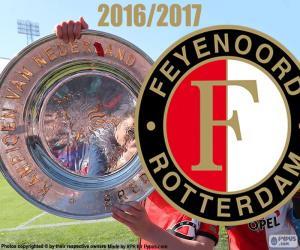 Puzzle Feyenoord, champion 2016-2017