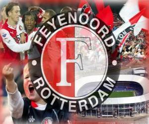 Puzzle Feyenoord Rotterdam, équipe de football des Pays-Bas