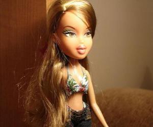 Puzzle Fianna, est un amoureux jeune fille de parfums et de la mode chic et glamour, elle est brésilienne