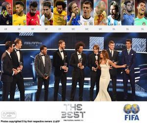 Puzzle FIFA/FIFPro World11 2016