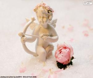 Puzzle Figure de Cupidon avec arc