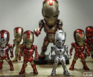 Puzzle Figures de Iron Man