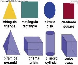 Puzzle Figures géométriques de base
