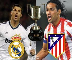 Puzzle Finale Coupe du roi 2012-13, Real Madrid - Atlético de Madrid