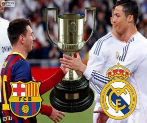 Puzzle Finale Coupe du roi 2013-14, F.C Barcelone - Real Madrid