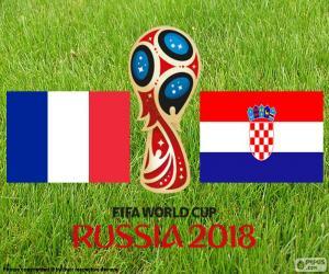 Puzzle Finale de Coupe du monde FIFA Russie 2018