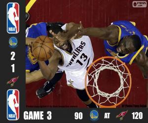 Puzzle Finale NBA 2016, 3ème partie