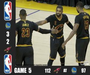 Puzzle Finale NBA 2016, 5e partie