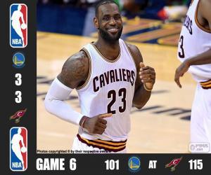 Puzzle Finale NBA 2016, 6e partie