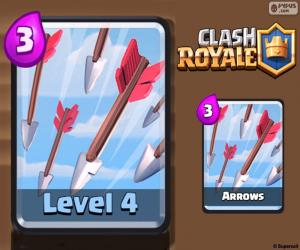 Puzzle Flèches de Clash Royale