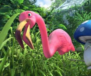 Puzzle Flamingo, un solitaire flamant