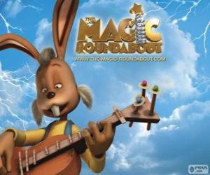 Puzzle Flappy, le lapin qui joue de la guitare