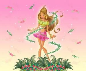 Puzzle Flora, Fée des fleurs