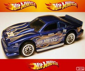 Puzzle Ford Mustang Cobra de Hot Wheels