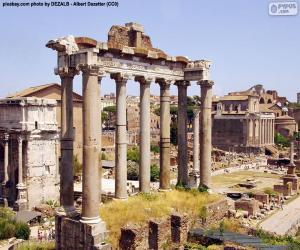 Puzzle Forum Romain, Rome