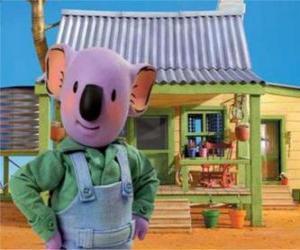 Puzzle Frank est l'un des frères Koala australien