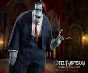 Puzzle Frankenstein, oncle de Mavis