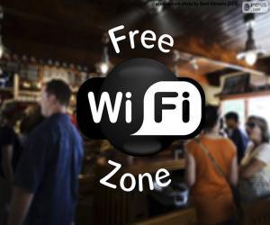 Puzzle Free wifi zone