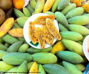 Puzzle Fruits de curuba