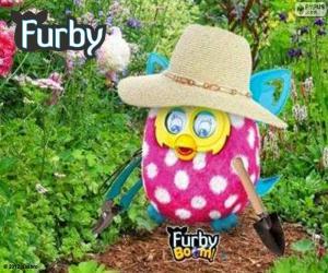 Puzzle Furby jardinier