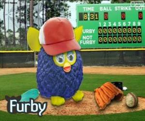Puzzle Furby joue de baseball