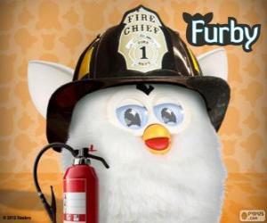 Puzzle Furby pompier